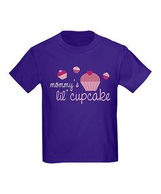 Take a look at this Purple 'Mommy's Lil' Cupcake' Tee - Toddler & Kids by Lil' Squirt Tees on #zulily today!