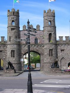 """Cork, Ireland For my castle tour for inspirational places to write my children's books: """"Margaret Merlin's Journal"""" A female wizard. Ireland Vacation, Ireland Travel, Places To Travel, Places To See, Brian Boru, Female Wizard, Irish Roots, County Cork, Meeting Place"""