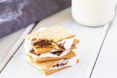 Easy Baked S'Mores (