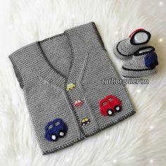 Hayran Kalacağınız 57 Örgü Bebek Yelek Hırka Patik Modelleri Baby Knitting Patterns, Baby Booties Knitting Pattern, Knit Headband Pattern, Knitted Baby Cardigan, Baby Pullover, Knitting Blogs, Baby Hats Knitting, Knitted Headband, Knitting For Kids