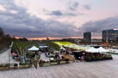La terrasse du Nüba, 31 quai d'Austerlitz,  Paris 13e  | DailyELLE