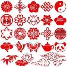 中国 アイコン イラスト素材