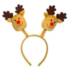 Great accessories for the kids, or for a Christmas party! 3 designs, Santa, Snowman or Reindeer! Reindeer, Snowman, Christmas 2015, Christmas Ornaments, Santa, Holiday Decor, Kids, Design, Friends