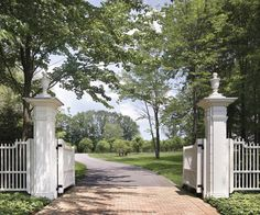 Welcome gate.