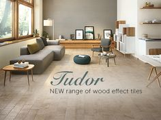 Check out our new range of wood effect tiles - Tudor
