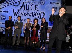 "Helena Bonham Carter and Tim Burton Photos - Walt Disney Pictures & Buena Vista Records ""Alice In Wonderland"" Fan Event - Zimbio"