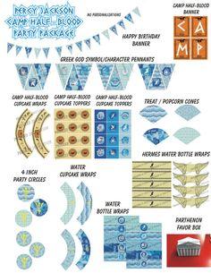 Demigod Percy Jackson Inspired Birthday Party DIY ...