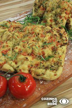 Focaccia Rice Recipes, Bread Recipes, Chicken Recipes, Red Rice Recipe, My Favorite Food, Favorite Recipes, Tapas, Crepes, Pasta