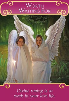 Romance Angels Oracle Cards WORTH WAITING FOR | Doreen Virtue