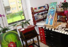 Mi nuevo estudio Pinball, Art, Studio, Art Background, Kunst, Performing Arts, Art Education Resources, Artworks