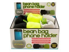Bean Bag Phone Holder Countertop Display
