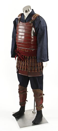 Red Samurai Warrior Armor