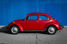 1974 VW Beetle - got one for graduation!~in 1974.....we had 3 by then....yellow 72, orange 73 super, my red 74....cool in the driveway!