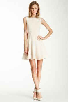 Julia Jordan Tucked Scuba Dress by Julia Jordan on @HauteLook
