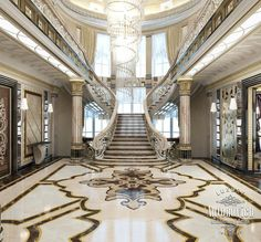 Villa Interior Design in Dubai, Villa in Qatar, Photo 4