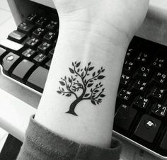 Mini tree #tattoo