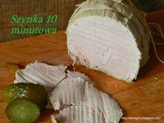 Szynka 10 minutowa - domowa wędlina   Stare Gary Camembert Cheese, Food, Essen, Meals, Yemek, Eten