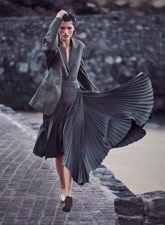 Harper's Bazaar Germany April 2018 by Julia van Os by Marcin Tyszka