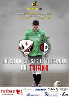 Cartel promoción 1/16 de final de la copa del rey de fútbol sala.