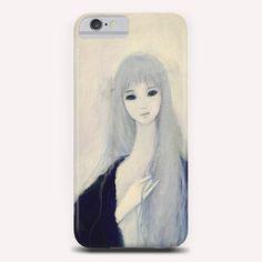 """Blue 23"" Phone Case by Ai Natori on Artsider - http://www.artsider.com/works/24575-blue-23_phone-cases"