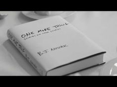 """Book Trailer: """"One More Thing"""" by B.J. Novak - YouTube"""
