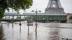 Sorge um Obdachlose in Paris: Seine-Hochwasser nähert sich Rekordwert