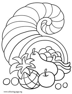 Coloring Free Printable Coloring Pages Cornucopia P with Printable Thanksgiving Coloring Pages Cornucop Free Thanksgiving Cornucopia Coloring Page Jump Start Thanksgiving With This Cornucopia Coloring Page Free Thanksgiving Coloring Pages, Turkey Coloring Pages, Fall Coloring Pages, Coloring Sheets For Kids, Coloring Pages To Print, Printable Coloring Pages, Coloring Books, Free Coloring, Coloring Worksheets