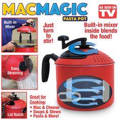 Mac Magic 4-qt Pasta Pot