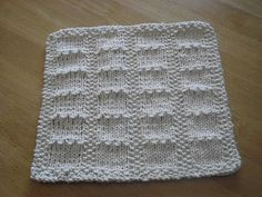 Slabs Dishcloth by Tricots et créations Isabelle