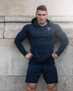 The Ark shorts. A leg day essential. @dickersonross's outfit now. https://gymshark.com/collections/shorts/mens