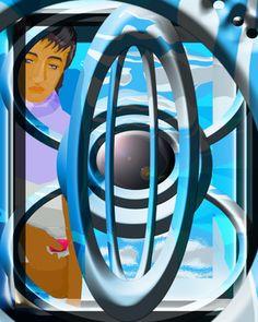 """My Abstract Art: A Little World Saatchi Online Artist Boi K' Boi; Digital, """"My Abstract Art: A Little World"""" #art"""