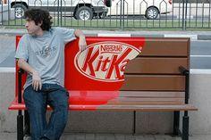 Nestlè- KitKat #adv #kitkat #panchina