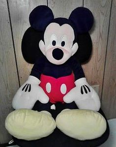 Large Disney Mickey Mouse Plush.