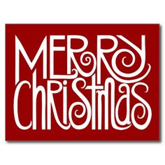 Postal Feliz Navidad! Merry Christmas postcard!