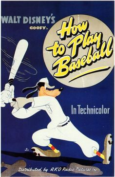 Walt Disney Presents - How To Play Baseball