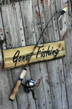 Gone Fishing...Grandpa went daily after retiring.  before that he had a huge pond on the farm.