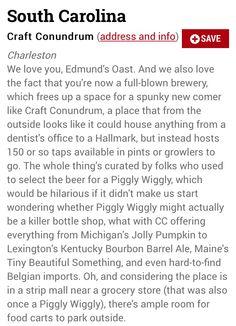 Best beer bar in South Carolina