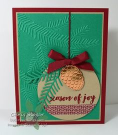 Season of Pines by Chris Slogar - Cards and Paper Crafts at Splitcoaststampers