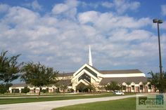 Victory Church, Lakeland, Florida - new sanctuary.  SCMH Architects, Lakeland, FL