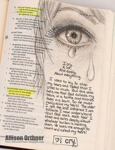 Allison Orthner: Bible Art Journaling - How to get started!!