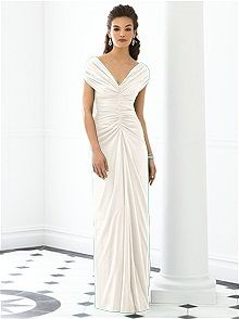After Six Bridesmaid Dress 6652    #white/ivory #bridesmaid #dress