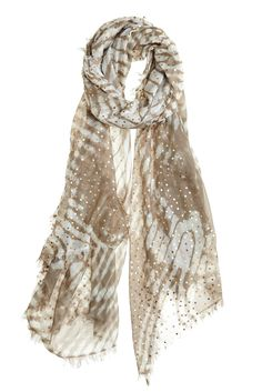 Take our quiz to discover your Spirit Print! Miracle Dotted Tie Dye Scarf