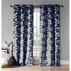 Duck River Quincy Grommet Curtain Panel Pair - QUQWH=12 /10235
