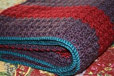 Crocheting Ideas | Project on Craftsy: Shell Stitch Afghan