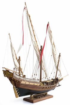 """Here are some more images of Amati's 1/60 scale Xebec armed vessel 1753. From Wikipedia"""" A xebec ( / ˈ z iː b ɛ k / ..."""