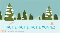 """French winter videos for kids. Simple lyric video with some helpful graphics for the song """"la neige tombe sur mon nez"""" For classroom use French Christmas Songs, French Songs, Winter Christmas, Winter Songs For Kids, Kids Songs, Teaching French Immersion, Learning French For Kids, French Classroom, Primary Classroom"""