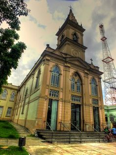 Igreja da Santissima Trindade - Belém - Pará - Brasil