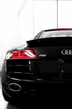 Audi R8, black, amazing supercar