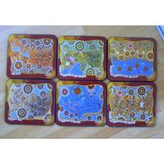 Australian Aboriginal Dreams Coasters, boxed, stunning Listing in the Coasters,Decorative,Home & Garden Category on eBid United Kingdom | 145676122