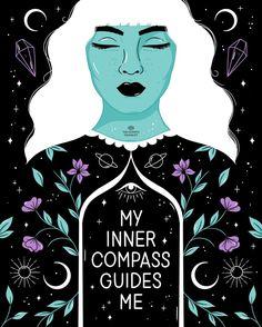 Wicca, Chakras, Ayurveda, Like Image, Bad Feeling, Oui Oui, Black Art, Compass, Intuition